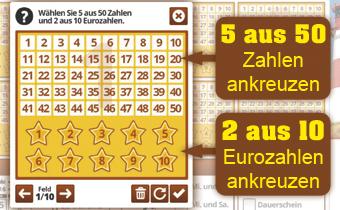 eurojackpot 2 eurozahlen richtig