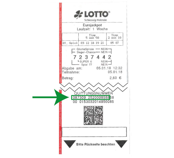 Lotto Losnummer ГјberprГјfen